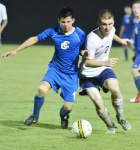 CHS Soccer vs. Clinton County 26
