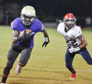 CHS Football vs. Russell County 44