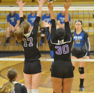 CHS Volleyball vs. Adair County 1