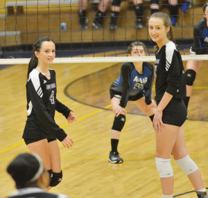 CHS Volleyball vs. Adair County 2