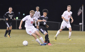 CHS Soccer vs. Taylor County District Tournament 2