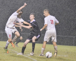CHS Soccer vs. Taylor County District Tournament 16