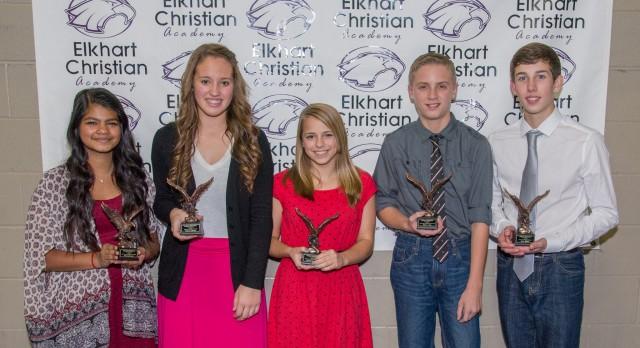 MS Eagle Award Winners
