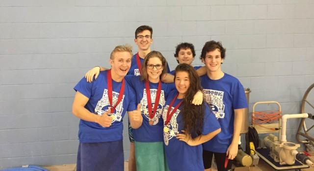 Warrior Swim Team Wins SCIAA Title
