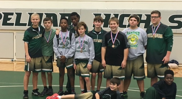 RMS Wrestlers earn 6 medals
