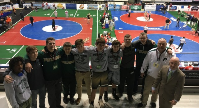 Montgomery and Wanagat bring home State Wrestling Medals