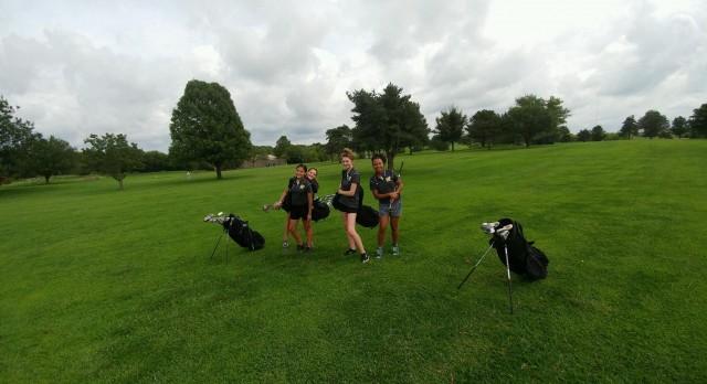 Turner High School Girls Junior Varsity Golf finishes 11th place