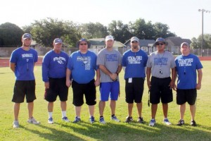 Pictured from left to right: Jason Gorman, A/D Ronnie Casey, Shawn Speck, Dean Edwards, Jeremy West, Robert Hernandez, Thomas King