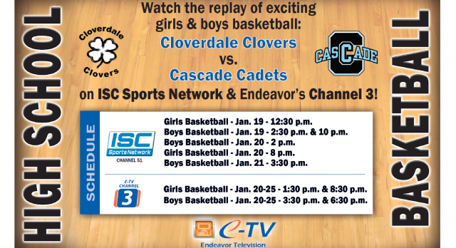 Clovers vs. Cascade on Local Endeavor TV