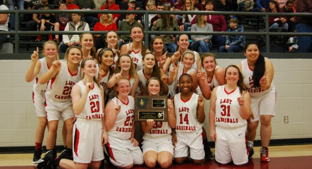 Lady Cards win District title