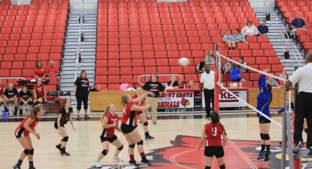 Conference leader too much for Lady Cardinals