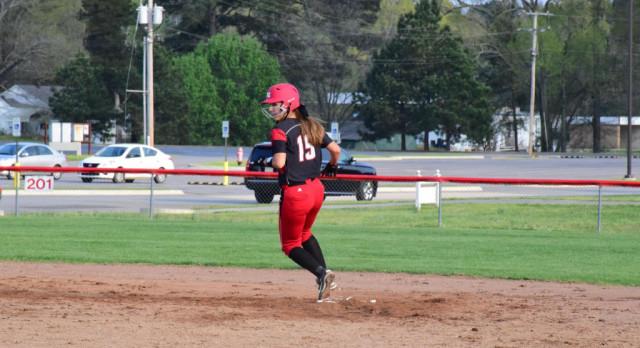 Lady Cardinals beats Jessieville behind Grace Bryant's no-hitter
