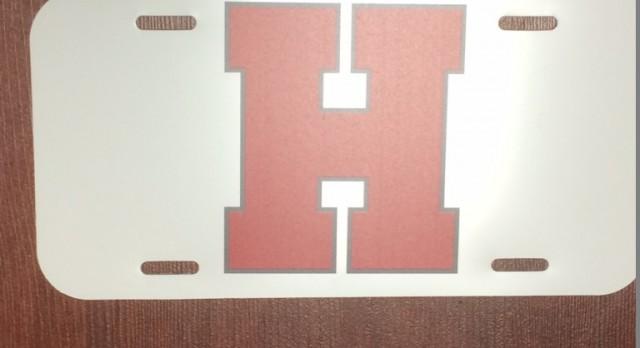 Heritage Athletics License Plates for Sale