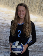 Kailey Keeble a University of Tennessee Volleyball Commit Makes All State