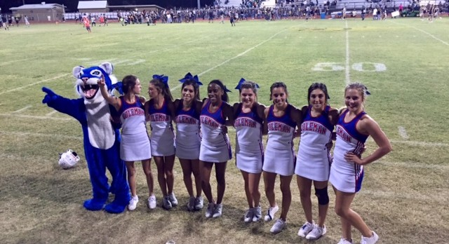 Cheer Pics from Coleman vs Brady