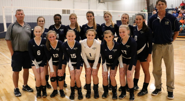 Varsity Volleyball (team picture)