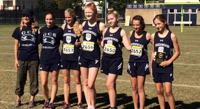 Job Well Done for Lady Hawks Cross Country Team