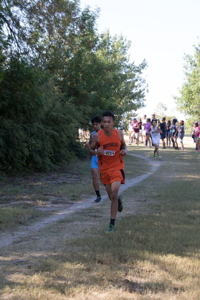 Jonathan Vences is another top runner for the Bulldogs.