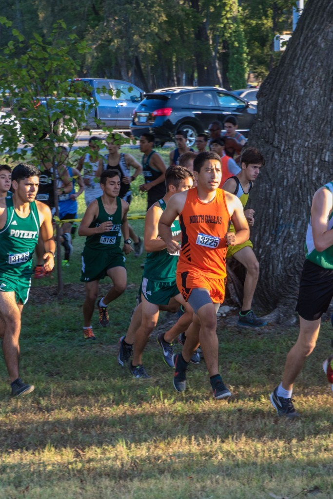 Jorge Gutierrez, competing in an earlier meet, had one of the top boys times Saturday at Jesuit Classic.