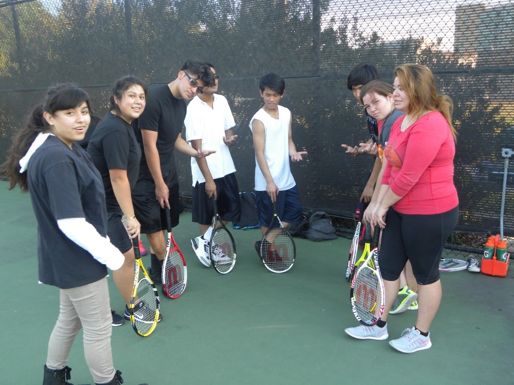 Team members include Angel Bazan (from left), Noemi Padron, Ulysses Rodriguez, Jesus Manqueros, Phillip Ngo, Mario Almaguer, Brandi Baker and Zayra Chab.