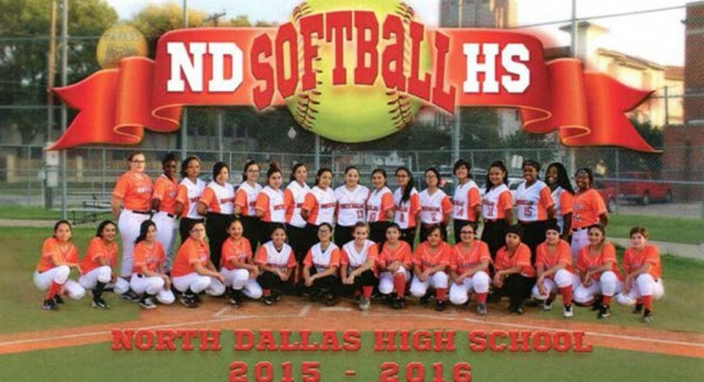 North Dallas softball team hits postcard campaign