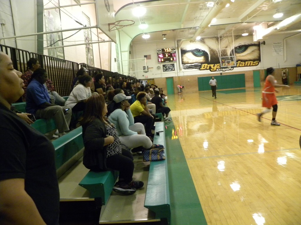 Bryan Adams had a good turnout for its district game against the Lady Bulldogs this season.