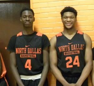 North Dallas standouts — Darius Watts and Kobe Wrice
