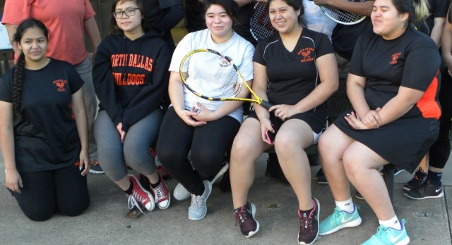 North Dallas student profile: tennis player Noemi Padron