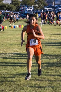 Xya Balderas is one of the Lady Bulldogs top runners.