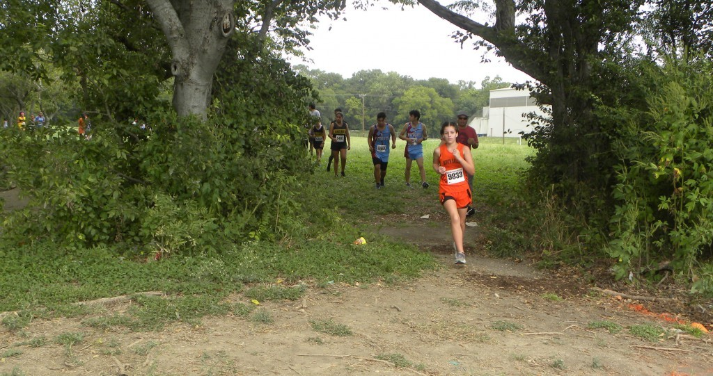 Marielena Garcia was the top JV finisher.