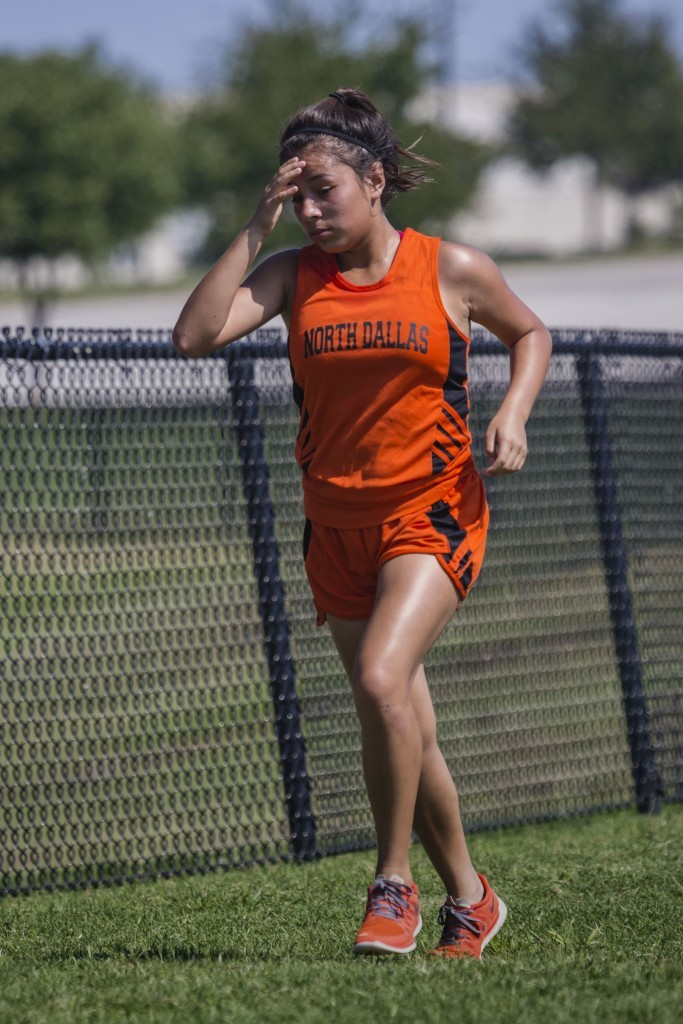 Fatima Rincon was the girls' top finisher in 25:51 at the Seagoville meet.