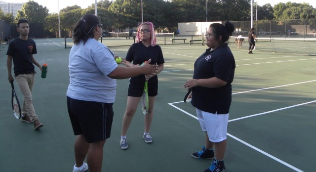 North Dallas student profile: Tennis player Anna Nguyen
