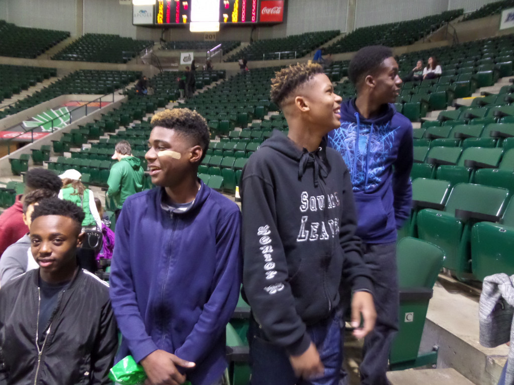 Dionnta Adams, NDHS 9th-grade basketball player), Terry Smith (Nimitz HS Irving 9the grade Basketball Player), Chandler DeVeaux (NDHS 9th grade Basketball Player), Marcus Pierson Jr. (Hillcrest HS 9th grade Basketball Player)
