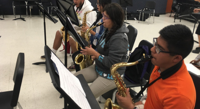 North Dallas band hits stage for Winter Concert, Open House