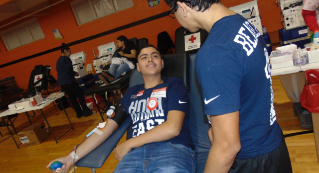 North Dallas JROTC holds blood drive