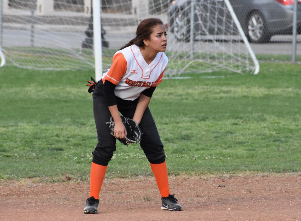 Yomara Gutierrez is starting as a freshman for the Lady Bulldogs.