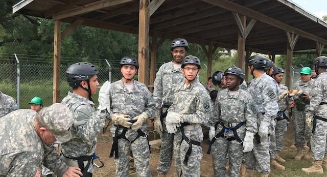 15 North Dallas High cadets attend JROTC summer camp