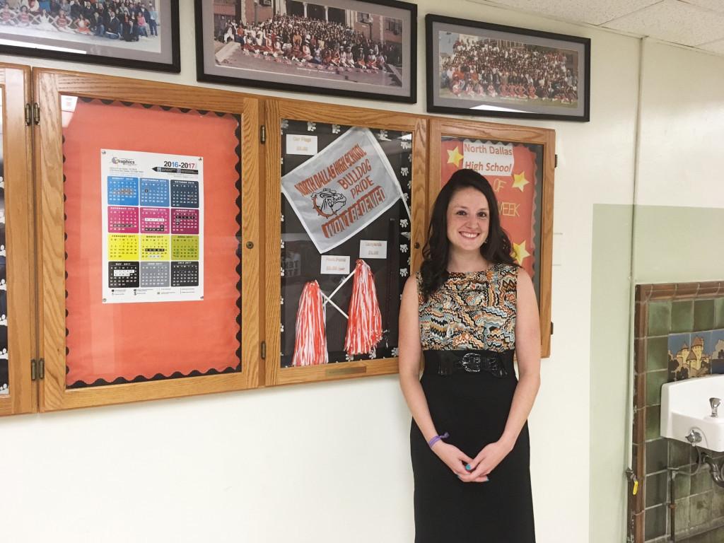 "New North Dallas High Principal Katherine Eska wants students to make ""every day counts"" toward their future."