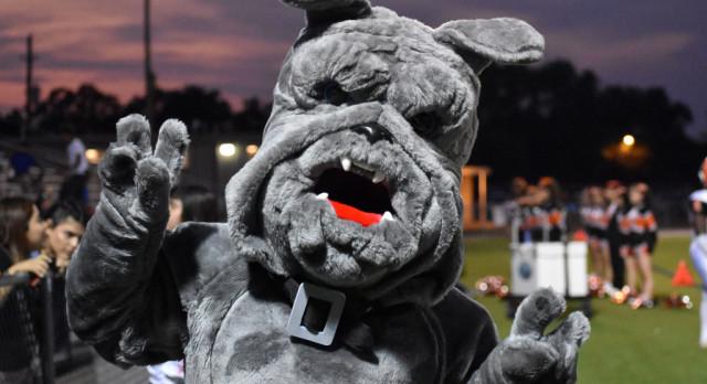 Meet Spike, the Bulldogs mascot