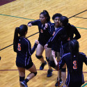 ND girls volleyball vs. Sunset — 9/12