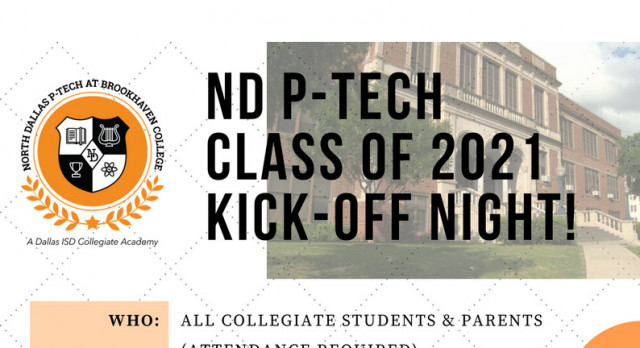 North Dallas Collegiate Academy hosts sponsors at kick-Off event Monday