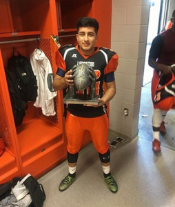 Juan Carpio and the Langston University are in the NAIA playoffs.