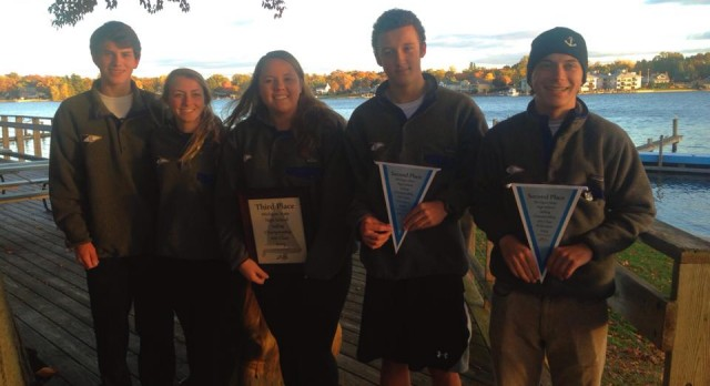 Sailing Team Brings Home Hardware!