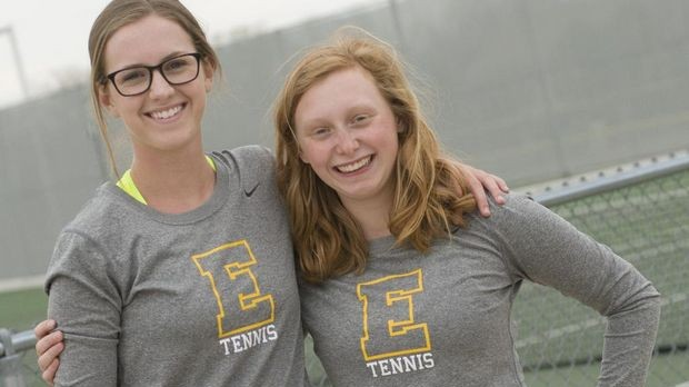 East Grand Rapids tennis team has experience in singles, depth in doubles