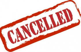 Thursday, April 20 Athletic Events Cancellations