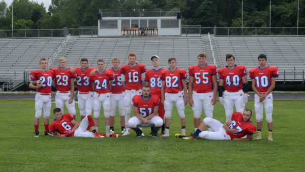 Football Seniors Mix Up