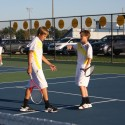 Boy's Tennis Against Jay County