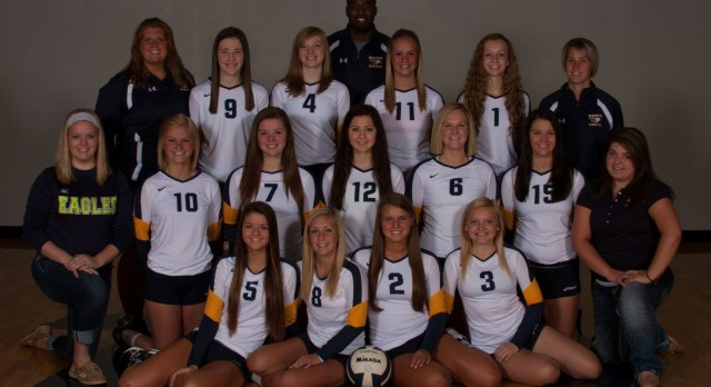 Volleyball Team Rises to No. 1 State Ranking