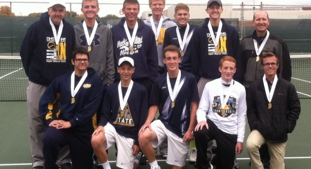 Eagles Finish 25-1 After Falling in Tennis Final Four
