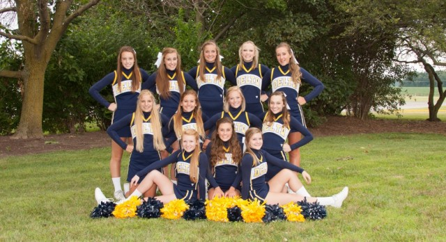 JV Cheer Competes at State
